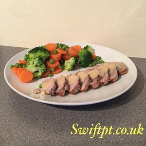 SwiftPT exercise and nutrition plans meal idea 2